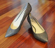 CV Signature Womens Pointy Kitten Heel Shoes EUC