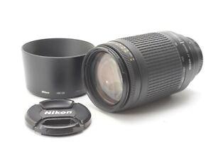 Nikon Nikkor AF 70-300mm f/4-5.6 G Lens - With Hood & Front and Rear Lens Caps