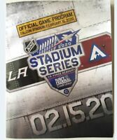 2020 NHL STADIUM SERIES GAME PROGRAM AVALANCHE KINGS SEE EBAY STORE PINS PATCH