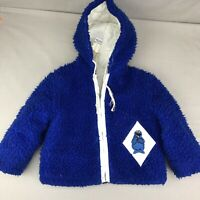 Cookie Monster Jacket Vintage Sesame Street Coat Size 3 JCPenney Muppets