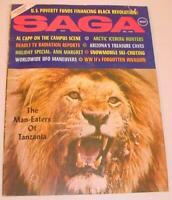 """VINTAGE DECEMBER 1969 MEN'S MAGAZINE """"SAGA"""" FEATURING ANN MARGRET PHOTO SPREAD"""