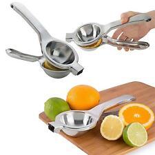 Fruit Lemon Orange Squeezer Lime Citrus Juicer Juice Manual Press Bar Kitchen
