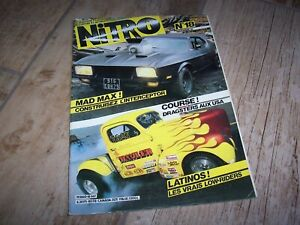 Magazine NITRO N°18 11/1982 Mustang Mad Max / Dragster / Latinos Low Riders //
