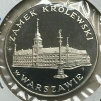 1975 Poland 100 Zlotych - Silver Proof - Royal castle in Warsaw