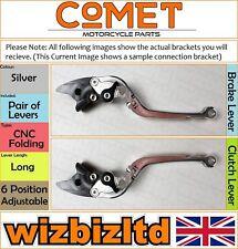 Buell XB12 2004-2008 [Pliable Long Argent] [ Comet Réglable Course Levier]