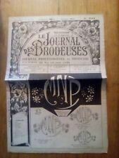 LE JOURNAL DES BRODEUSES JOURNAL PROFESSIONNEL N°734 - 1956