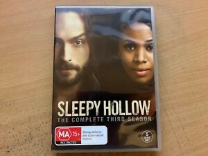 Sleepy Hollow Season 3 The Third Series Three Tom Mison (DVD 2015 5-Disc) R4 VGC
