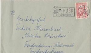 DE19)1968 Denmark -150th Ann. Birth Hans Christian Sonn -Founder 1st Co-op Store