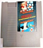 Super Mario Bros. Duck Hunt NES Cleaned & Tested 1985
