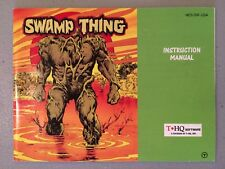 Swamp Thing Manual Nintendo NES Instruction Booklet Book Clean Condition