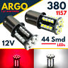 380 Reverse Tail 1157 Brake Led White Red Bay15d Car Fog Light Bayonet Bulbs 12v