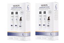 ★★★ 2x NIOXIN Haarpflege System 6 Starter-Set abnehmende Haardichte ★★★