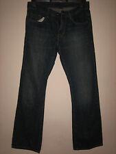 WW2) pour homme Calvin Klein Bleu Bootcut Jean Braguette Zippée Taille 30 Jambe 30