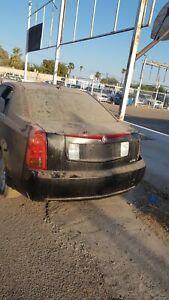 2003 2004 2005 2006 2007 Cadillac CTS black  Trunk Lid Panel