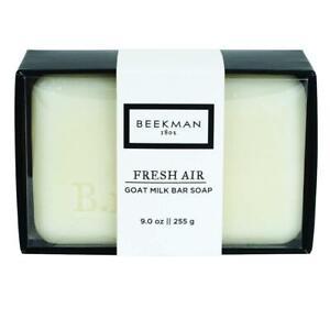 Beekman 1802 Fresh Air Goat Milk Bar Soap 9 oz