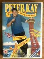 Peter Kay Live DVD At the Top of the Tower British Stand Up Comedy Concert