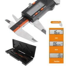 Electronic Caliper Digital Inch/Metric/Fractions 0-6 Inch 150 mm Stainless Steel