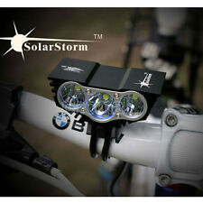 10000LM SolarStorm CREE T6 LED Bicycle Bike Head Light Cycling Front Lamp USB SP