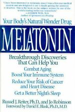 Melatonin, Reiter, Russel J., Good Condition, Book