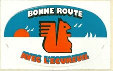 AUTOCOLLANT - BANQUE : CAISSE D' EPARGNE ECUREUIL COMPTE ARGENT / STICKERS