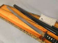 Handmade 41' Sharp High Carbon Steel  Japanese Samurai Katana Sword black