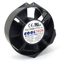 110V / 115V / 120 V AC Axial Cooling Fan. 172mm x 150mm x 55mm (HS1755A)