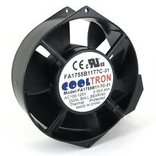 110V / 115V / 120 V AC Axial Cooling Fan. 172mm x 150mm x 55mm (HS1755A)