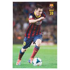 Leonel Messi - FC Barcelona SOCCER Poster Season 2013-2014 Brand New