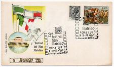 3° FESTIVAL DEL FILM FILATELICO - busta primo giorno 1970