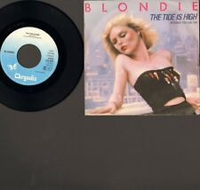 "BLONDIE The Tide is High SINGLE 7"" NMINT Susie and Jeffrey 1980 DEBBIE HARRY"
