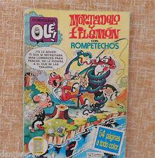 Comic, Mortadelo y Filemón, nº 285, Colección Olé, Ediciones B, Grupo Zeta, 1987