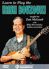 Learn To Play The Irish Bouzouki Tuition Lesson DVD NEW