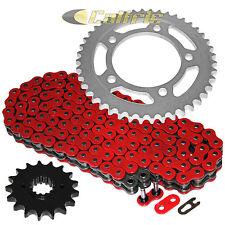 Red O-Ring Drive Chain & Sprockets Kit For HONDA CBR1100XX Blackbird 1997-2007
