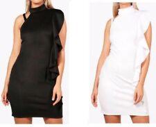 Polyester/Elastane Stretch Plus Size Dresses for Women