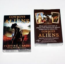 COWBOYS and ALIENS Daniel Craig Science Fiction Western Movie DECK PLAYING CARDS
