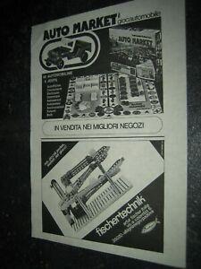 1974 -3#1 fischertechnik Werbung Katalog Prospekt catalogue catalogo pub ad