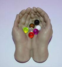 Billes piercing UV Néon  Billes 1.6x8 mm,  piercings langue Nombril cb