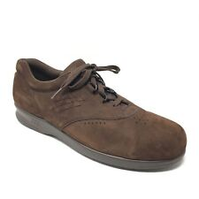 Women's SAS Free Time Shoes Sneakers Size 11N Brown Leather Casual Made USA U15