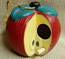Pottery Apple Bird House - Very Cute