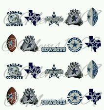 NFL Dallas Cowboys nail art WATER DECALS  Free shipping Footbal nail art