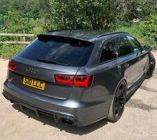 Rear Bumper Carbon extension Diffuser for Audi RS6 C7 4G 13-19