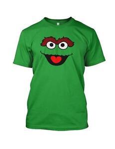 OSCAR Cartoon Sesame Street Face Mens Funny T Shirt Tee
