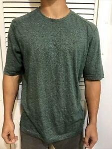 Men's Wolverine Medium Tee Shirt T Work Wear Short Sleeve Heather Green