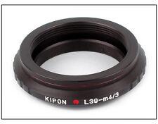 Leica L39-Panasonic G1/G2/GF1/GH1/G10/GH5 Micro 4/3 adapter