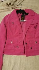Rocawear Hot Pink corduroy two-piece Blazer and pants