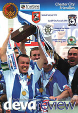 2004/05 Chester City v Walsall/Cardiff/Queen of South/Blackburn - friendlies