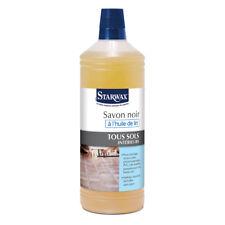 Starwax  SAVON NOIR A L'HUILE DE LIN 1 litre - 5150