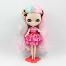 """Takara 12"""" Neo Nude Mix Pink hair Blythe doll From Factory +Gift JSW41002"""