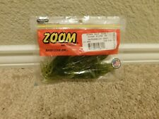 Brand new in the package Zoom 10 pack Super Fluke Jr. in Watermelon Seed color