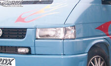 RDX Scheinwerferblenden VW T4 alte kurze Front Böser Blick Blenden Spoiler